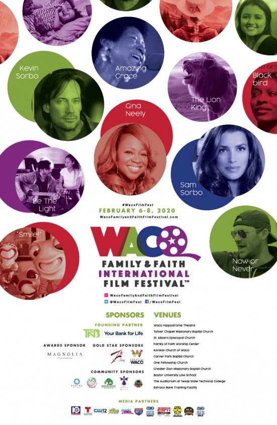 2020 Waco Family & Faith International Film Festival