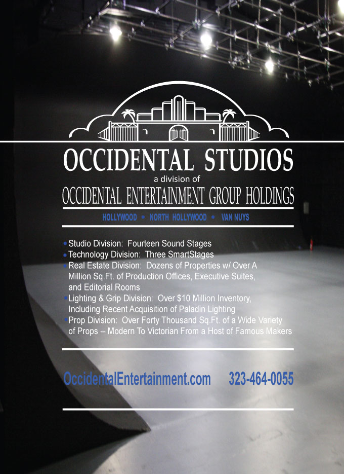Occidental Studios Advertisement